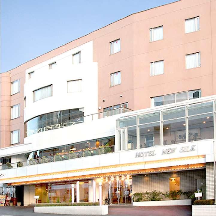 シルクホテルの外観